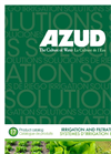 AZUD - Irrigation and Filtration Systems - Product Catalogue