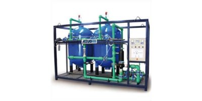 Azud Watertech - Model DW S - Drinking Water Plant With Sand Media Filtration