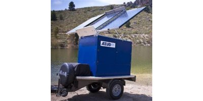 Azud Watertech - Model DWE - Mobile, Compact and Autonomous Drinking Water Plant