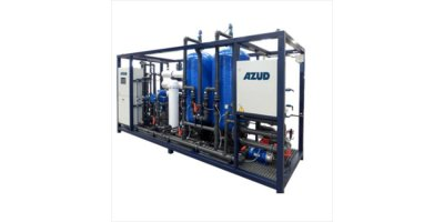 AZUD WATERTECH - Model DW ZSW - Seawater Purifier with Zeolite Media Filtration