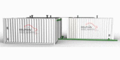 Model BF series - Container Wastewater Treatment Plants