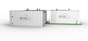 Delphin - Mobile Container Wastewater Treatment Plants for Remote Locations
