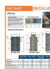 BioKube - Model Venus Series - Packaged Wastewater Treatment Plants - FactSheet