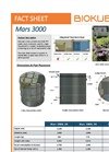 BioKube - Model Mars 3000 - Packaged Wastewater Treatment Plants - FactSheet