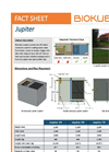 BioKube - Model Jupiter - Decentral Wastewater Treatment Plants - Datasheet