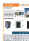 BioKube BioReactor - Model 50 to XL - Decentral Wastewater Treatment Plants - Datasheet