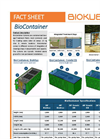 BioKube Transportable Sewage Treatment Plant - Biocontainer System - Brochure