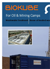 Containerized Sewage Treatment Plants (STPs) for Oil and Mining Camps - Brochure