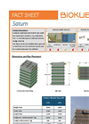 BioKube - Model Saturn - Decentral Wastewater Treatment Plant - Dataheet
