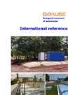 BioKube - Biological Treatment of Wastewater - Brochure