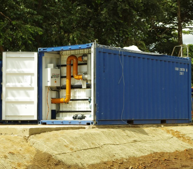 Containerized Sewage Wastewater Treatment Plant-1