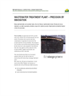 Sewage Wastewater Treatment Plant Brochure