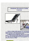 Aluminum Horizontal to Incline Conveyor Brochure