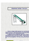Aluminum Incline Conveyor Brochure