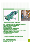 Grinder Feed Conveyor Brochure