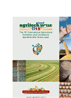 Agritech Israel 2015, 19th International Agricultural Exhibition & Conference Brochure