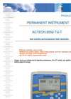 ACTEON 2052-TU-T - Turbidity And Temperature Field Transmitter Data Sheet