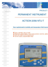 ACTEON 2056-NTU-T - Nephelometric Turbidity And Temperature Field Transmitter Data Sheet