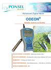 ODEON - Advanced Digital Meter Handheld Instrumentation Data Sheet