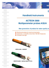 AQUA - ACTEON 3000 - Multiparameter probes Data Sheet