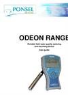 ODEON Range - Portable Field Water Quality Metering And Recording Device Manual