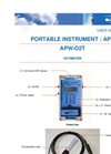 APW-O2T - Oxymeter User Manual
