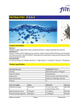 Filtralite - Model P 0,5-4 - High Quality Expanded Clay Water Filter Media Datasheet