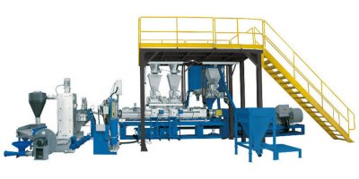 Model ES105C - Co-Rotating Double Screw Extruder