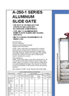 AWWA - Model SS-250 - Stainless Steel Slide Gates Brochure