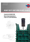 AWWA - Model C560 - Heavy Duty Cast Slide Gates Brochure
