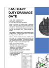 Model F-55 - Heavy Duty Flap Gates Brochure