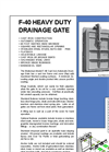 Model F-40 - Heavy Duty Flap Gates Brochure