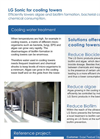 LG Sonic - Cooling Towers Application Brochure