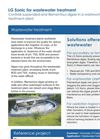 LG Sonic - Wastewater Treatment Application Brochure