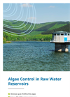Algae Control in Raw Water Reservoirs brochure