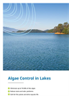 Algae Control in Lakes brochure