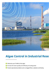 Algae Control in Industrial Reservoirs brochure