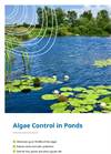 Algae Control in Ponds - Brochure