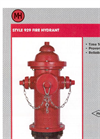 Model 929 - Reliant Fire Hydrant Brochure