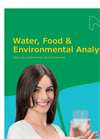 Water and Food Analytics Catalog