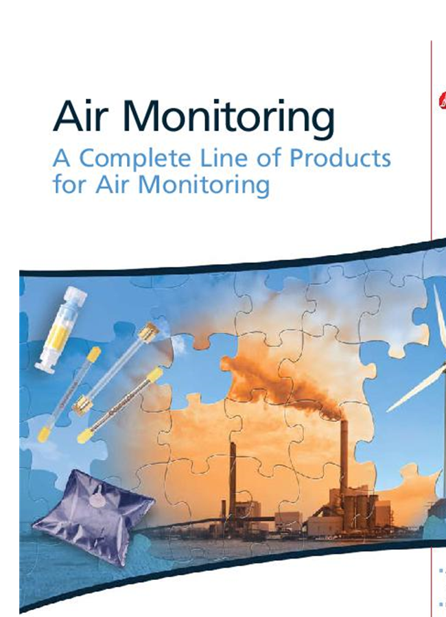 Air Monitoring: A Complete Line of Products for Air Monitoring
