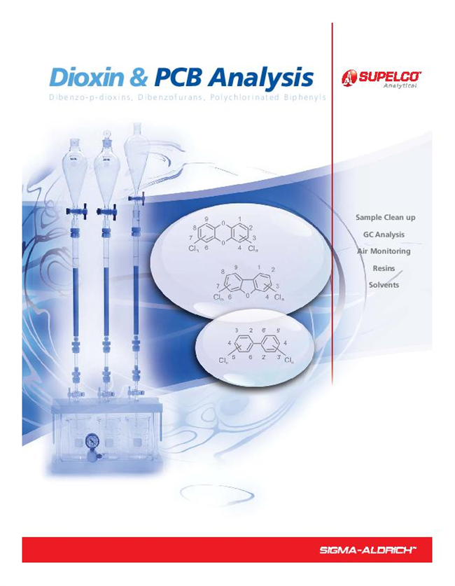 Dioxin & PCB Analysis Brochure