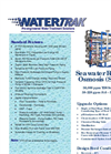Watertrak - Model 36,000 ppm TDS - Seawater Reverse Osmosis (SWRO) Brochure