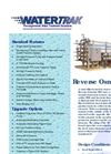 Watertrak - Reverse Osmosis (RO) System Brochure
