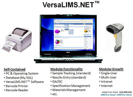 VersaLIMS - Laboratory Information Management System