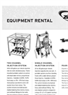 Injection Equipment Rental Sheet