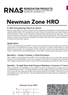 Newman Zone HRO High Retention Oil (HRO) for Anaerobic Bioremediation - Product Information Sheet