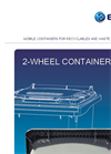 2 Wheel Small Size Bins - Brochure