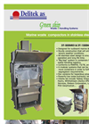 DT-500MkII & DT-1500MkII Waste Compactor, Page 1 Brochure