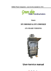 DT-500MkII & DT-1500MkII Waste Compactor User & Service Manual Brochure